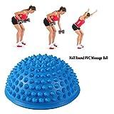 Yoga Igelball Massagebälle Ideal für Balance Training Massageball fuß Gleichgewicht Ball (Blau)