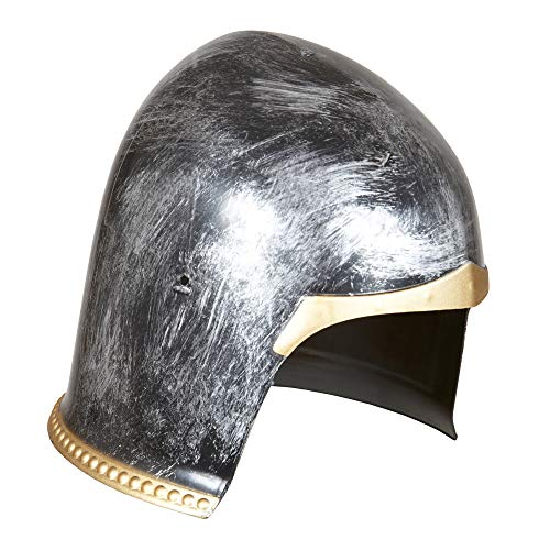Mittelalterliche Kind Krieger Kostüm - Widmann 01124 - Helm Mittelalterlicher Krieger