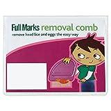 Full Marks Cabeza De Cepillo Para Eliminar Los Piojos (Paquete de 2)