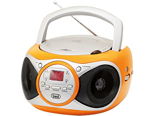 Trevi 0051209 CD 512 Radiorekorder (CD-Player) Orange Digital Cd-player