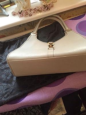 Mujer Auténtico Cuero Gucci Bolso de mano