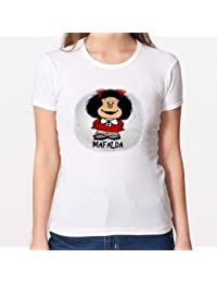 Original M Camisetas Diseño Mujerchica Mafalda Positivos BXTqfwxB