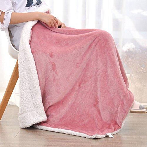 Baby-decke,Kinder verdickte warm doppelbett decken flanell decke quilt kleine decke für bett sofa couch camping reisen alle saison-leichtgewicht-B 150x200cm(59x79inch) (Couch Quilt)