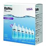 ReNu MPS Pflegemittel für weiche Kontaktlinsen, 6-Monatspack (6 x 240ml + 6 Behälter)