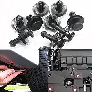 Car Bumper Clip Trims Fastener Rivet auto push pin rivets Push Type Retainer Clips 12mm 50Pcs
