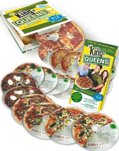 The King of Queens - Die komplette Serie in der Pizzaschachtel [18 Blu-rays]