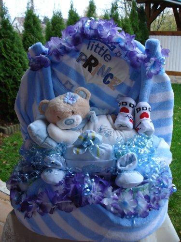 """XLWindeltorte""""Little Prince und Teddybär""""Geburt,Taufe,Hochzeit!!"""