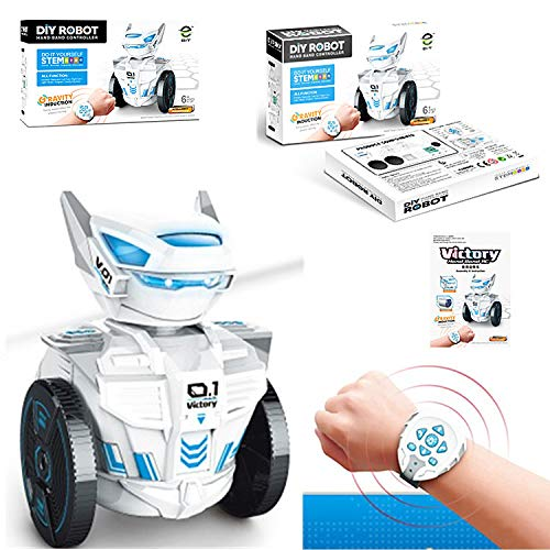 Hengzi RC 2.4G Armbanduhr Schwerkraft Sensing Fernbedienung Roboter mit LED Geschenk (Roboter Tanz Kostüm)