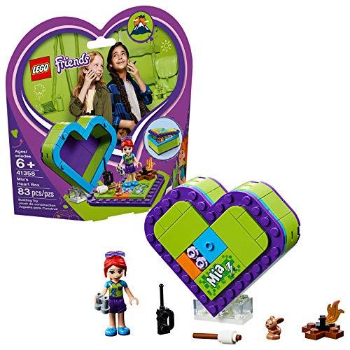 Friends Lego Mias Herz Box 41358 Bauset, Neu 2019 (83 Teile)