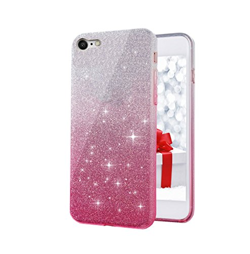 Cool & Creative Presents 3 IN 1 Gradient Glitter Cover for VIVO Y55L