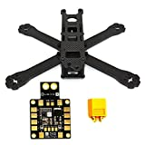 LHI 220-RX H210 H220 FPV Racing Quadcopter Frame Carbon Fiber +PDB XT60 Power distribution board 5V 12V Output Support 6 ESC from Lhi