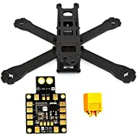 LHI 220-RX H210 H220 FPV Racing Quadcopter Frame Carbon Fiber +PDB XT60 Power distribution board 5V 12V Output Support 6 ESC - 36 Carbon