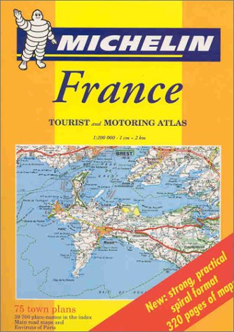 Michelin France: Tourist and Motoring Atlas