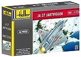 Heller-80309-Modellbausatz-Saab-Ja-37-Jaktviggen