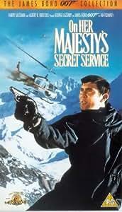 On Her Majesty's Secret Service [VHS] [1969]