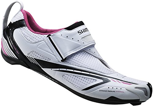 SHIMANO WT60 Scarpa da Triathlon Donna Nero - multicolore