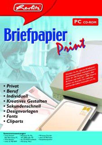 Herlitz Briefpapier Print