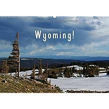 Wyoming! / BE-Version (Calendrier mural 2015 DIN A2 horizontal): Un voyage à travers la nature sauvage du Wyoming. (Calendrier mensuel, 14 Pages) (CALVENDO Nature)