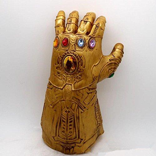 (sgerste Athanasios Infinity Gauntlet Handschuh Cosplay Infinity Krieg the Avengers Kostüm gold)
