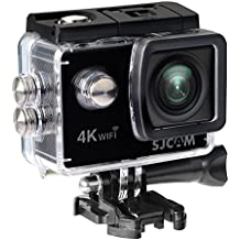 "SJCam SJ4000 AIR - Videocámara (4K, 16 MP, WIFI, pantalla trasera 2"" LTPS LCD), color negro"