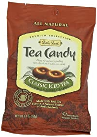 Bali's Best Classic Iced Tea Candy, 5.3-Ounce Bags (Pack of 12)