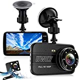 Best Car Dash Cameras - Dual Dash Cam Front and Rear Camera, 8 Review