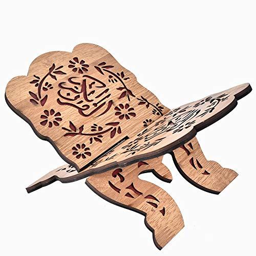 Hztyyier Koran Bücherregal Heilige Buchhalter Islam Buch Ständer Home Office Dekoration 29,2 cm Lange Dichte Bord