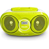 Philips AZ215G/12 CD-Player (Radio, Audio-in, leicht bedienbar) grün