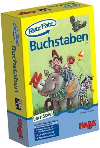 Habermaass 4536 - Haba Ratz-Fatz Buchstaben, Spiele und Puzzles
