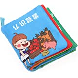 Baby Soft Cloth Book Intelligence Development Cloth Book Toys (Vegetable)