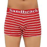 Sand Beach Men's Cotton Multicolor Trunk