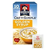 Quaker Oat So Simple Golden Syrup Porridge 10 x 36g