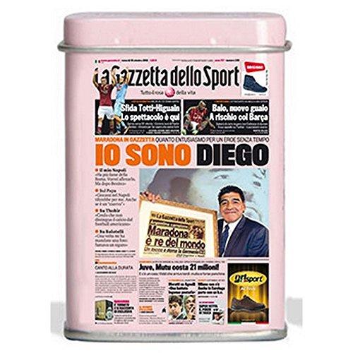 Pastiglie Leone - NAPOLI 'IO SONO DIEGO Maradona - licenza esclusiva La Gazzetta dello sport