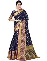 Soru Fashion Striped Kanjivaram Art Silk, Banarasi Silk, Jacquard Saree