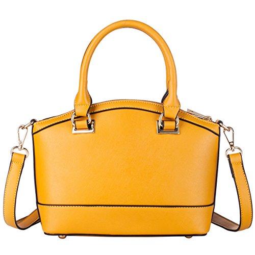 Larga borsa a mano da donna, da spiaggia, con chiusura a cordoncino e manico nella parte superiore Orange