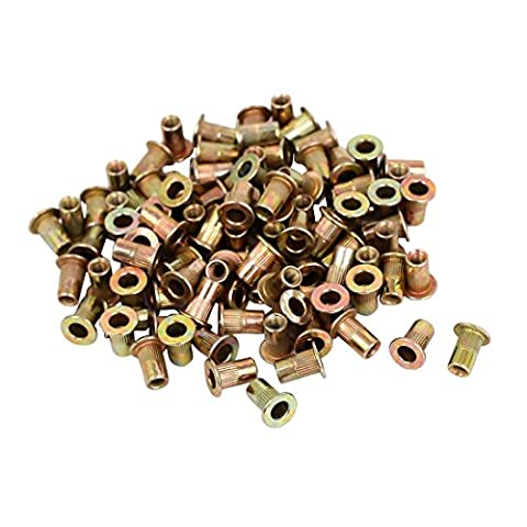 Rivet Nuts - SODIAL(R) M3x9mm Countersunk Head Blind Rivet Nuts