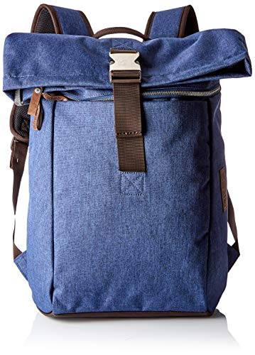 BREE Collection Unisex-Erwachsene Punch Style 92, Jeans Denim, B.p. S S19 Rucksack, Blau, 12x42x41 cm