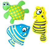 #DoYourSwimming Tauchspielzeug aus Neopren mit Sand befüllt, ideale Schwimmhilfe BZW. Tauchhilfe für Kinder. Das Wasserspielzeug eignet Sich fürs Freibad, Schwimmbad, See oder Das Meer Seestern