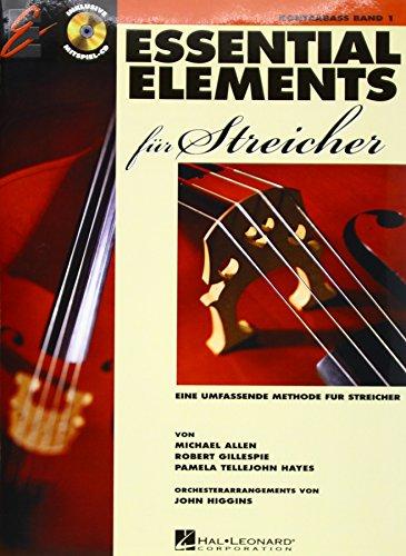 Essential Elements für Streicher - Kontrabass: Eine umfassende Methode für Streicher