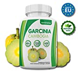 Garcinia Cambogia, 100% pure Garcinia Cambogia extract with 60% HCA, 120 capsules, natural appetite suppressant and natural fat burner, enriched with Zinc and Chromium, weight loss.
