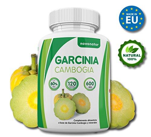 Garcinia Cambogia, 100% extrait pur de Garcinia Cambogia avec 60% de HCA, 120 gélules, suppresseur...