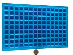 126 quadrate rechteck pralinen silikonform backform. Black Bedroom Furniture Sets. Home Design Ideas