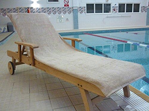 Bana Kuru Sonnenliegen-Handtuch, widerstandsfähig gegen Chlor und Sonne, volle Länge, 70cm breit...