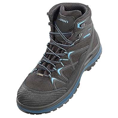 Elten 5903-37 Chaussures de sécurité Lowa Innox Work GTX Lime Mid S3 Taille 37