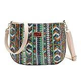 Mitlfuny handbemalte Ledertasche, Schultertasche, Geschenk, Handgefertigte Tasche,Art und Weise neue...