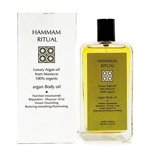 Hammam Ritual - Aceite de argán puro (loción corporal, 100 ml)