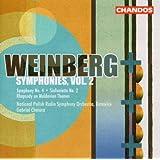 Mieczyslaw Weinberg - Symphonies, Vol. 2 :  Symphonie n° 4 op. 61 - Sinfonietta n° 2 op. 74 - Rhapsodie op. 47 n° 1
