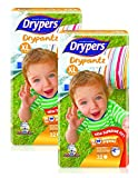 #5: Drypers Drypantz Extra Large Size Diapers (Pack of 2, 32 Counts per Pack)