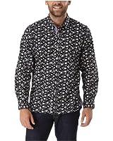 Joe Browns Men's Button It Print Hint Shirt