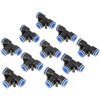 8mm Pneumatische Gerade Push-Anschluss Luftleitung Schnelle Montage D DOLITY 20pcs Rohr Od 4mm